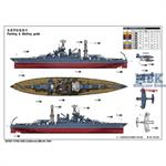 USS California BB44 Battleship 1941