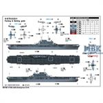 USS Enterprise CV-6 1:700