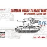 E-75 Heavy Tank with 128mm flak 40 gun