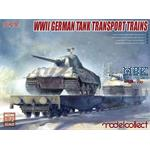 WWII German tank transport trains