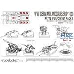 Landcruiser P.1000 Ratte weapon set pack II