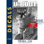 Decalbogen Uboot im Focus 1:72