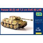Panzer38(t) mit 7,5cm KwK40 L/48
