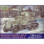 Soviet Armored Vehicle BA-6