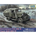 GAZ-MM-W Soviet truck