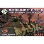 Armored Train Type BP-43  No 2  61st Satd