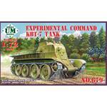 Exp.Command KBT-7 tank