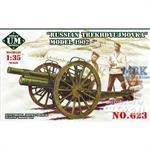 Russian Trekhdyujmovka 3inch gun, 1902