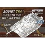 Soviet T-54 Main Battle Tank 1:144