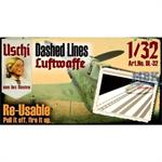 """Dashed Lines """"Luftwaffe"""" masking set (1:32)"""
