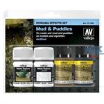 Vallejo Mud & Puddles (4x35ml.)