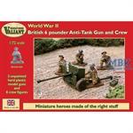 British 6pounder Anti-Tank Gun & Crew
