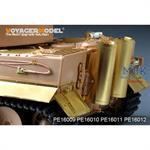 German Tiger I Fenders (For TRUMPETER)