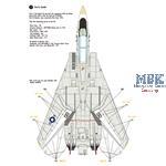 F-14A Tomcat Part.2 - VF-1 'Wolfpack' 1970 Era