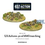 Bolt Action: US Airborne 30 Cal MMG team firing