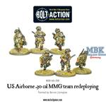 Bolt Action: US Airborne 30 Cal MMG redeploying