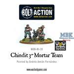 "Bolt Action: Chindit 3"" Mortar Team"