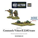 Bolt Action: Commando Vickers K LMG teams