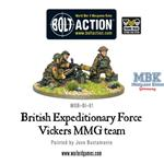 Bolt Action: BEF Vickers MMG team