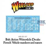Bolt Action: French vehicle transfers