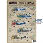 Fokker D.VII (Fok) Fighting Fokkers part 1 decals