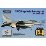 F-16C Dragchute Housing set