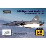 F-20 Tigershark F404 Engine Nozzle set