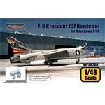 F-8 Crusader J57 Engine Nozzle set