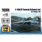 F-14B/D Tomcat Exhaust set (for Tamiya 1/48)