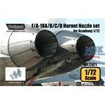 F/A-18A/B/C/D Hornet nozzle set