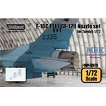 F-16C F110-GE-129 Engine Nozzle set