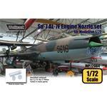 Su-7 Fitter AL-7F Engine Nozzle set