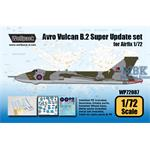 Avro Vulcan B.2 Super Update set (for Airfix 1/72)