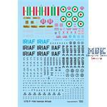 F-14A Iranian Ali-Cat Update set (Academy 1/72)