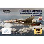 F-14A Early Type Beaver Tail Conv. set - Block 60