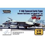 F-14A Early Type Beaver Tail . set - Block 60-75