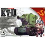 World of Q Tank Series Soviet Heavy Tank KV-II