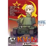 World of Q Tank Series Soviet Heavy Tank KV-I