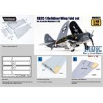 SB2C-1 Helldiver Wing Fold set