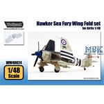 Hawker Sea Fury Wing Fold set (for Airfix 1/48)