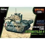 World War Toons British Tank A12 Matilda II