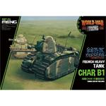World War Toons French Heavy Tank Char B1