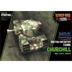 World War Toons British Infantry Tank Churchill