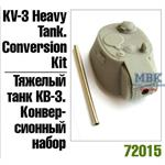 KV-3 heavy tank conversion kit