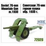 76mm mountain gun 1938