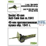 Soviet 45mm Anti-Tank gun 1941