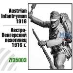 Austrian Infantryman, 1916