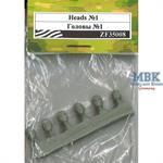 Heads Set #1