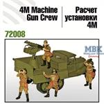 4M Machine Gun Crew