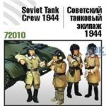 Soviet Tank Crew, 1944